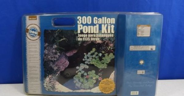 Little Giant 300 Gallon Pond Starter Kit Complete New Little Giants Starter Kit Giants