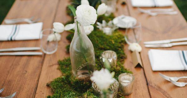 Boda creativo camino : Relaxed and Romantic Backyard Wedding Corredores, Creativo y Boda