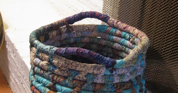 janae king designs rope basket tutorial coiled fabric over piping cord baskets pinterest. Black Bedroom Furniture Sets. Home Design Ideas