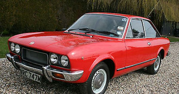 Ebay Fiat 124 Sport Coupe Uk Rhd Car Classiccars Cars Con