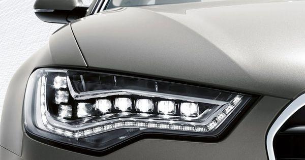Audi Automobile Fine Photo Audi A6 Audi Led Headlights