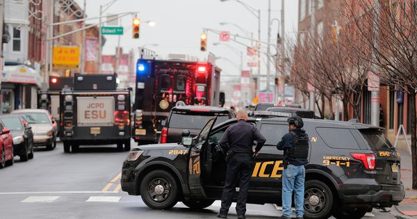 Live Updates New Jersey Shooting Police Officer Police Jersey City