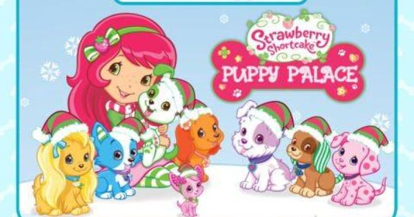 Appysmarts Strawberry Shortcake Puppy Fun Kids App Puppy Palace Strawberry Shortcake