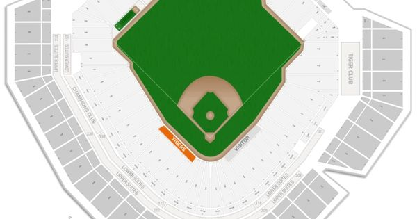 The Most Amazing Comerica Park Detailed Con Imagenes