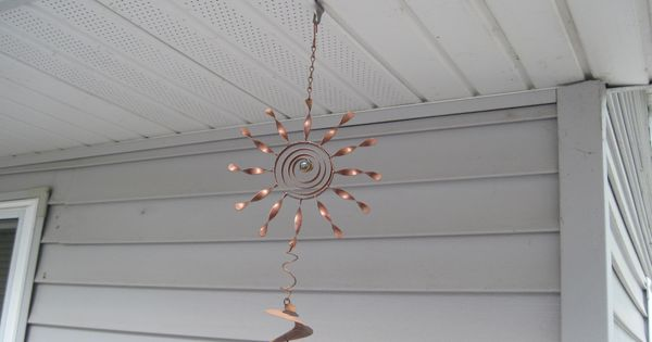 Hang Wind Chime From Soffit For Our Home Pinterest