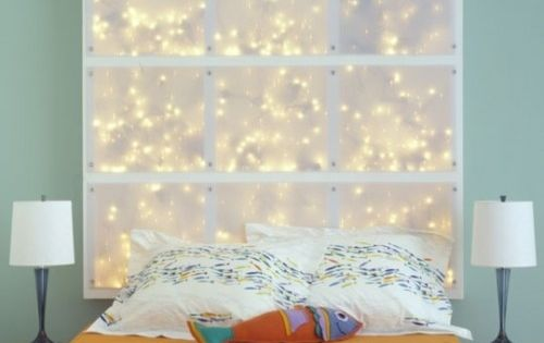 Hit the snooze button with 20 diy headboards diy led light and diy led - Backlit headboard ...