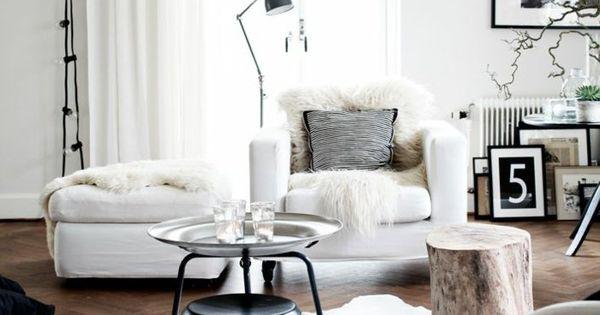 skandinavische einrichtung einrichtungsideen wohnung. Black Bedroom Furniture Sets. Home Design Ideas