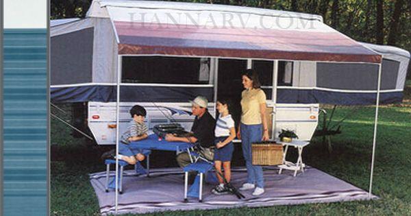 A E Dometic 944gp10 002 10 Foot Blue Steel Trim Line Pop Up Tent Trailer Camper Awning Mfg 944gp10 002 Do Camper Awnings Pop Up Tent Trailer Awning Canopy