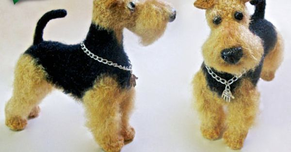 102IT Il tutorial all uncinetto Il Welsh Terrier ...