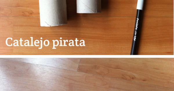 fabriquer une longue vue de pirate avec 2 rouleaux de. Black Bedroom Furniture Sets. Home Design Ideas