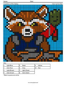 Megapixel Coloring Coloring Squared Geeky Cross Stitch Patterns Geeky Cross Stitch Marvel Coloring