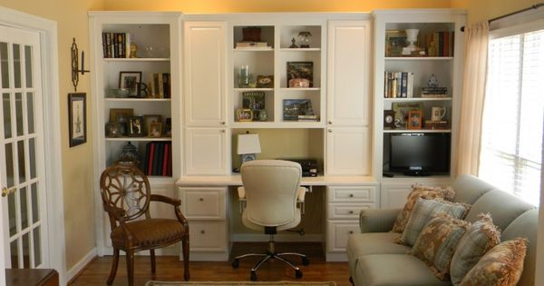 Home Office In Living Room Furniture Accessories Simple