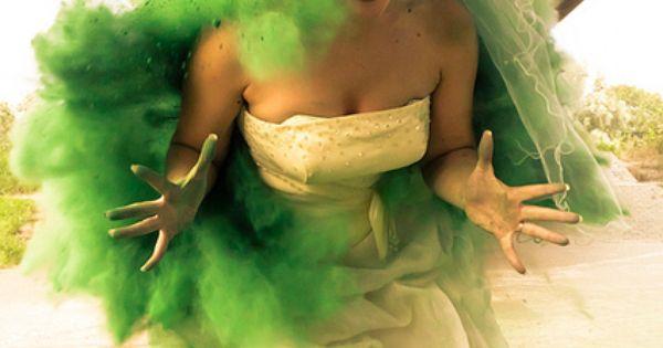 i love it! green Powder Shooting