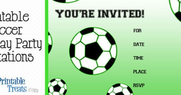 Free Printable Soccer Birthday Party Invitations Soccer Birthday Invitation Soccer Party Invitations Soccer Birthday