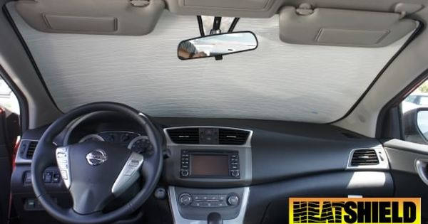 Made To Order Custom Made Heatshield For Your Nissan Versa Note Windshield Windshield Sun Shade Car Windshield Sun Shade
