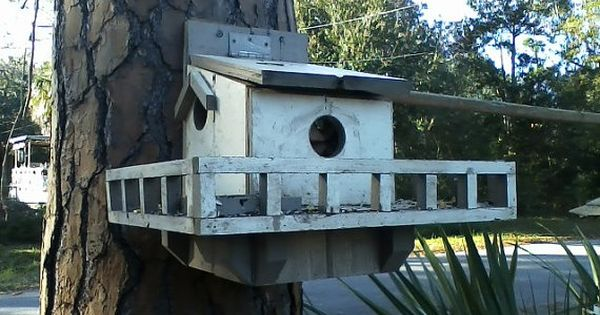 Squirrel House With Porch Porches Squirrel And Etsy