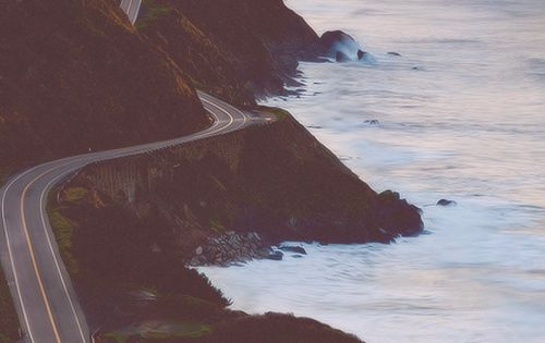Pacific Coast Highway - road trip on the California coast