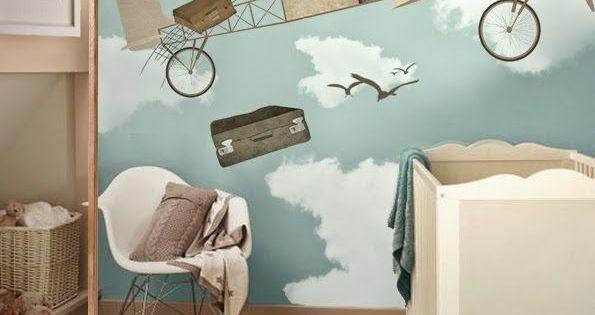 Decoracion de habitacion moderna para bebe recamara - Habitacion bebe moderna ...