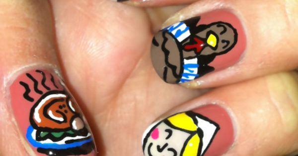 #Baroque nails - http://yournailart.com/baroque-nails-2/ - nails nail_art nails_design nail_ ideas nail_polish ideas