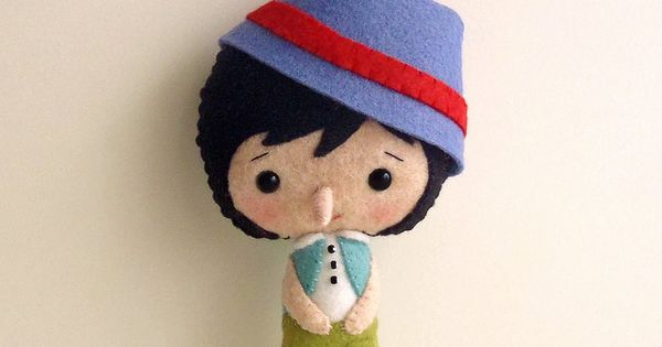 pinocchio hat template - pinocchio with hat pinocchio felting and dolls