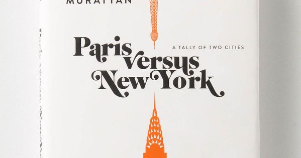 beautiful book cover! NYC & Paris