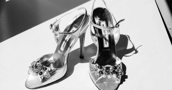 What do an orthopedic surgeon from South Detroit, a lawyer from Chicago, and BeyoncA� have in common? Evidently enough to encourage Jeffrey Ackerman to propose t | See more about Black White Weddings, Ankle Straps and Illinois.