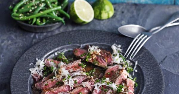 steak with daikon and ponzu dressing | food inc | Pinterest | Steaks ...