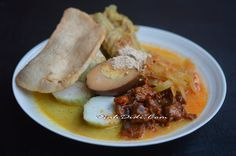 Diah Didi S Kitchen Lontong Cap Gomeh Semarangan Resep Masakan Makanan Dan Minuman Makan Malam