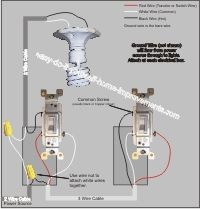 Wiring A 3 Way Switch Diy Electrical Home Electrical Wiring Light Switch Wiring