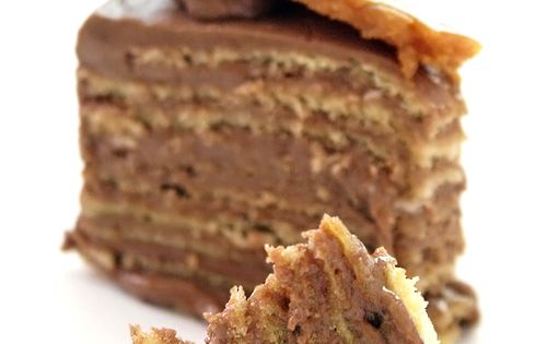 The most famous Hungarian cake in the world, Doboš Torte, was first