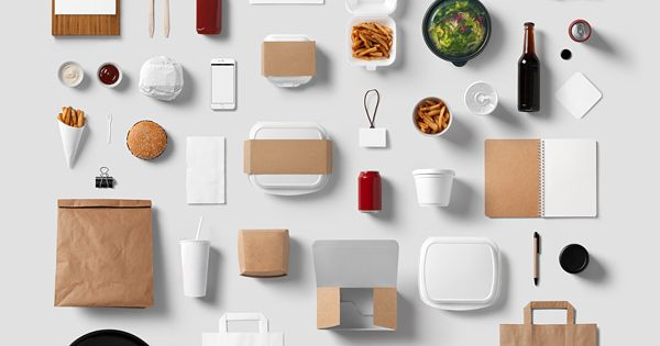 Burger bar stationery mockup templates based on for Food bar mockup