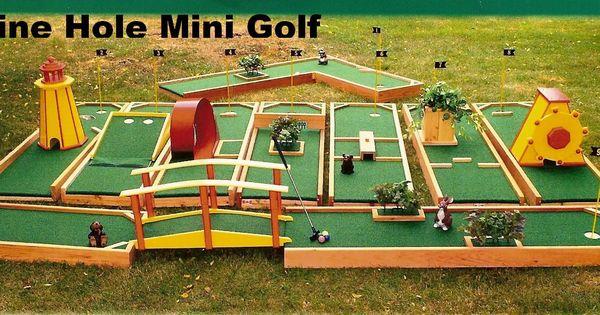 Mini Golf Obstacles Viewing Gallery Mini Golf Course Mini Golf Set Mini Golf