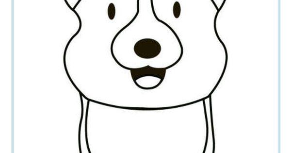corgi coloring pages - corgi puppy coloring pages coloring pages