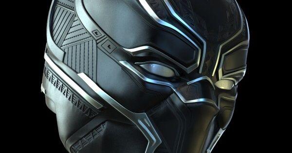 3D printed Black Panther mask | 2016 | Pinterest | Black ...