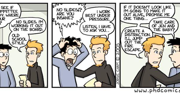 Phd Comic Thesi Defense Dissertation Motivation Comics Wmu