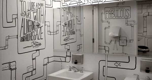 Do It Yourself Plumbing: ADC Bathroom So Cool!! (creative, Idea, Inspiration, Do It
