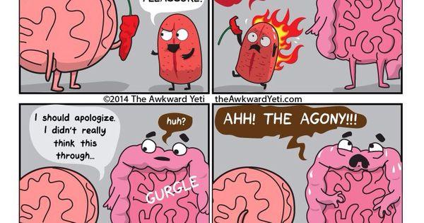 theawkwardyeti  Comics and cartoons by The Awkward Yeti