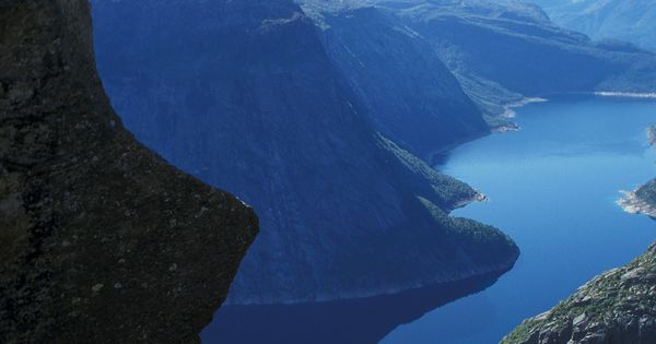 #Bucket list 1: Take in the view from Norway's Trolltunga Rock. travel