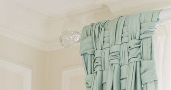 How To Make A Basket Weave Effect : Quot basket weave your drapes for the ultimate posh look