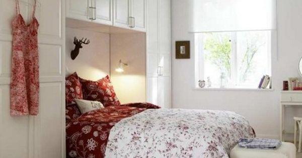 Decoraci n de dormitorios peque os dormitorios - Decoracion de dormitorios matrimoniales pequenos ...