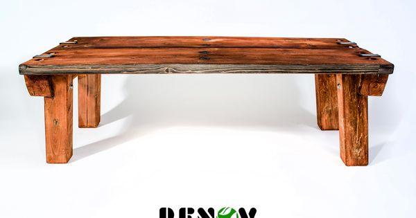 Elaborados con madera de tarima banca 50cm x 120cm x for Bancas para jardin de madera