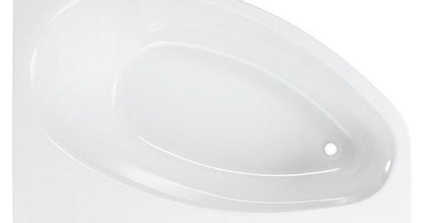 baignoire d 39 angle en acryl amande lapeyre 160 x 100 salle de bains pinterest. Black Bedroom Furniture Sets. Home Design Ideas