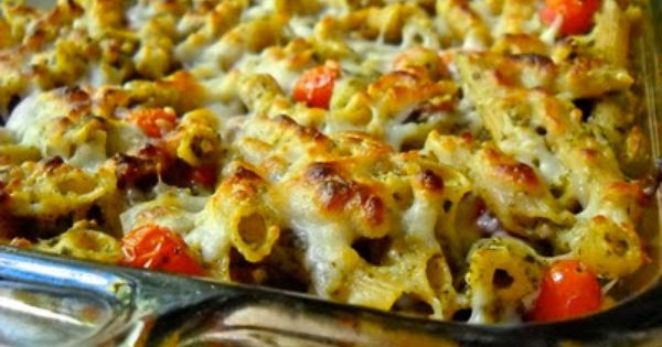 Bacon Pesto Pasta Bake - Budget Bytes. Sounds yummy and would be