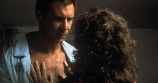 Harrison Ford and Bonnie Bedelia in Presumed Innocent (1990), dir - presumed innocent movie