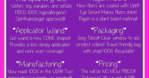 What is new about Younique's 3D Fiber Lash Plus?! You are going