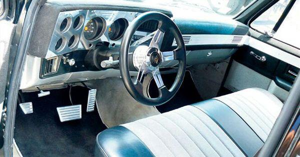 C10 Interior Custom Interior Pinterest Chevrolet C10 Trucks And Truck Interior