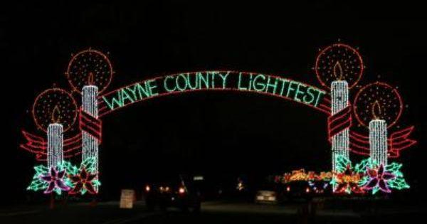 Wayne County Announces Lightfest Grand Opening Wayne County