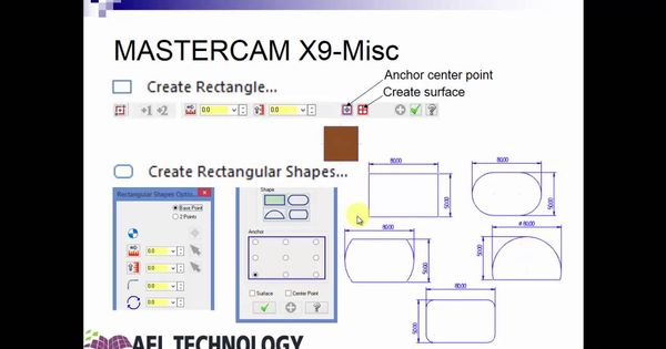 Advanced Training On Mastercam X9 2d Milling Advanced Training Mastercam Train