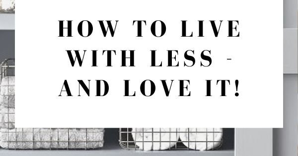 How To Live With Less And Love It In 2020 Professional Organizer Clutter Wicker Laundry Basket