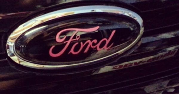 New Pink Ford Emblem ♡ Ford Pinterest Ford Ford
